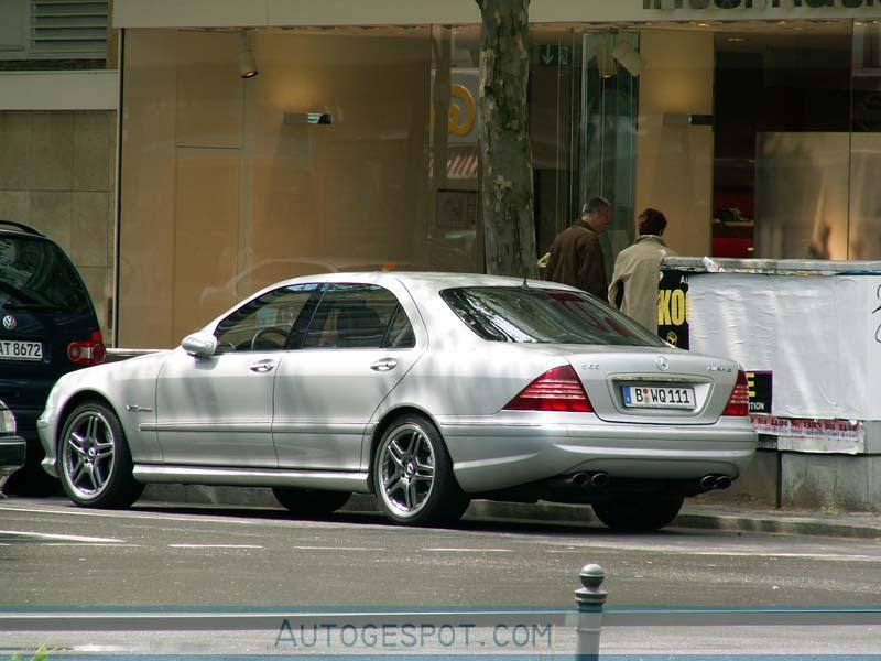 мерседес w220 2006