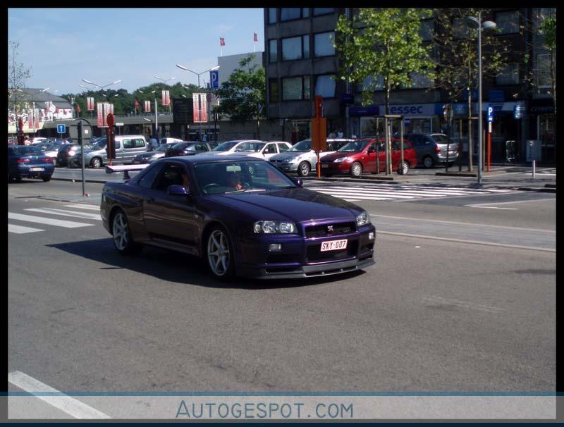 Nissan Skyline R34 Gt R V Spec Midnight Purple Pearl Ii