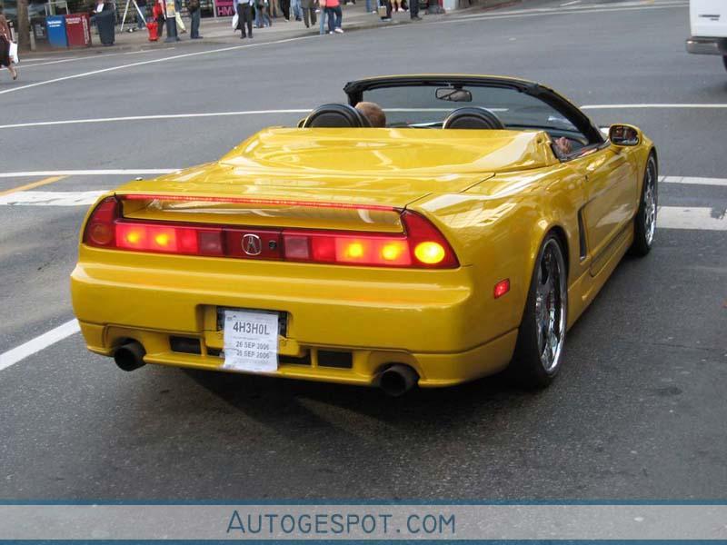 acura nsx convertible 8 october 2006 autogespot