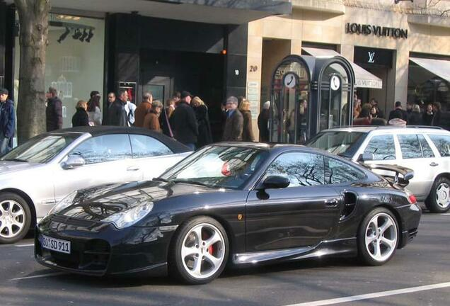 Porsche 996 Turbo Techart