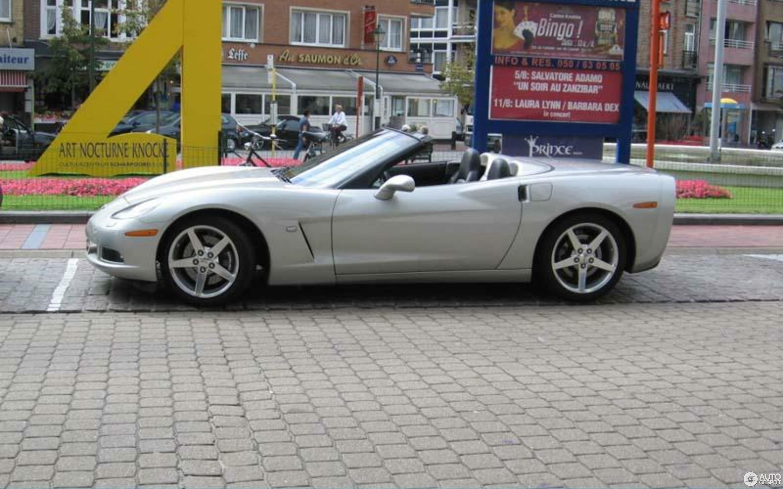 Chevrolet Corvette C6 Convertible