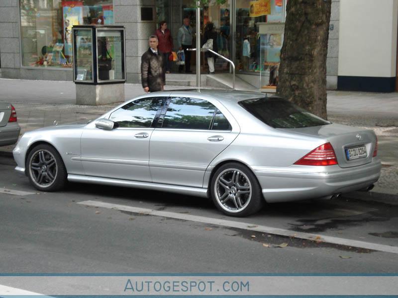 Mercedes benz s 65 amg w220 4 september 2006 autogespot for 2006 mercedes benz s55 amg for sale